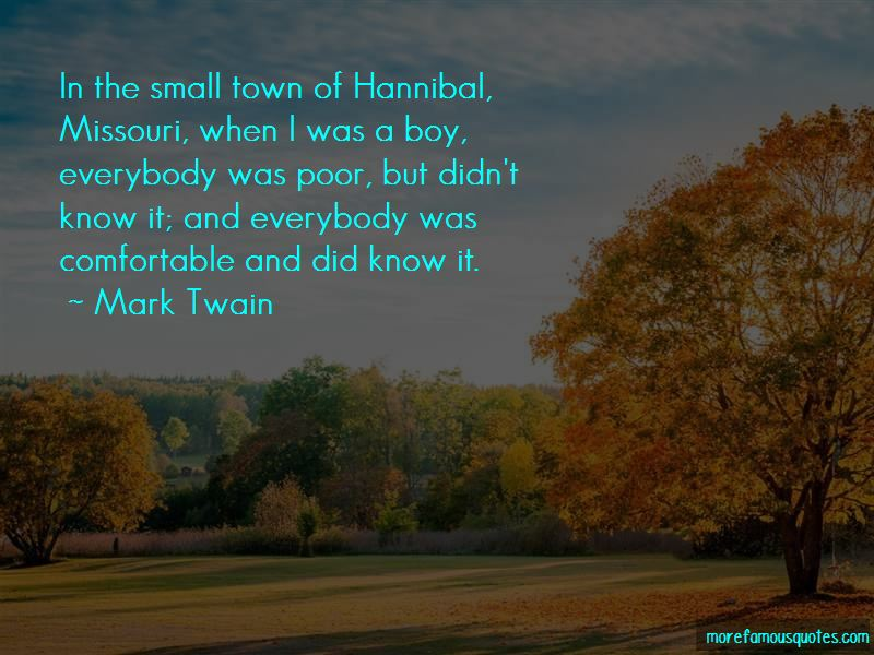 Quotes About Hannibal Missouri