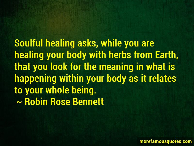 Quotes About Healing Your Body