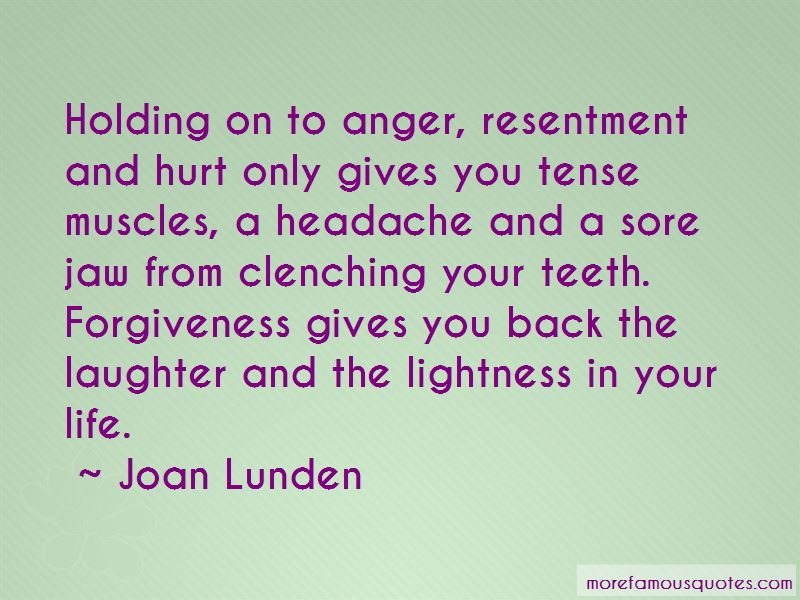 Quotes About Holding On To Anger