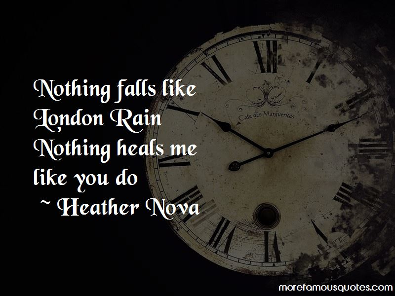 Quotes About London Rain
