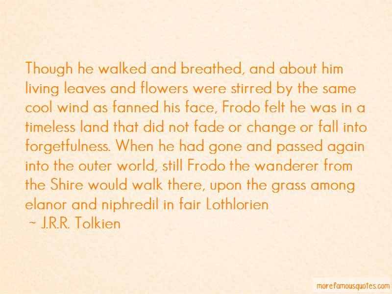 Lothlorien Quotes Pictures 3