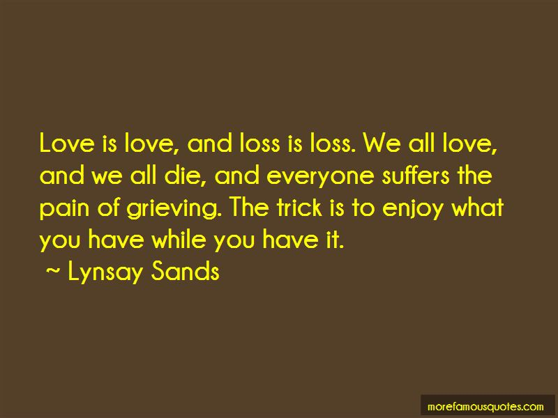Love And Loss Quotes Pictures 2
