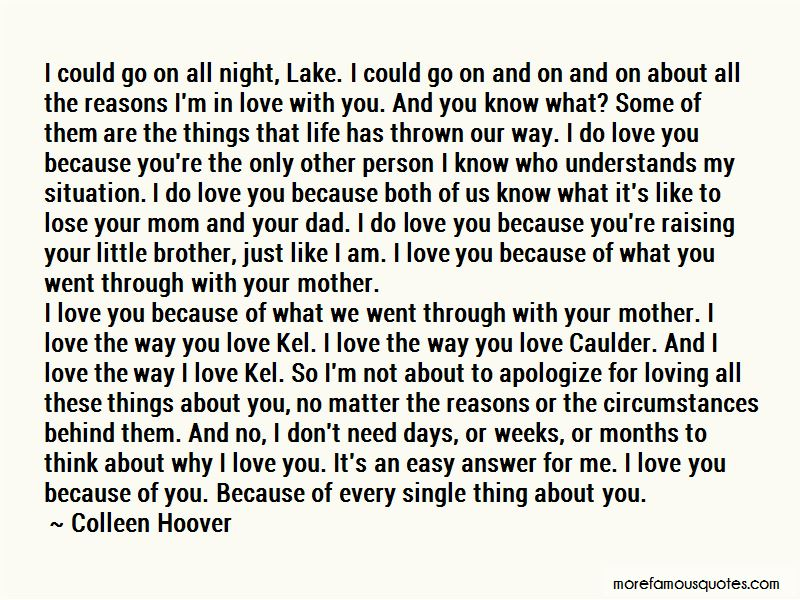 Quotes About Loving Your Mom No Matter What