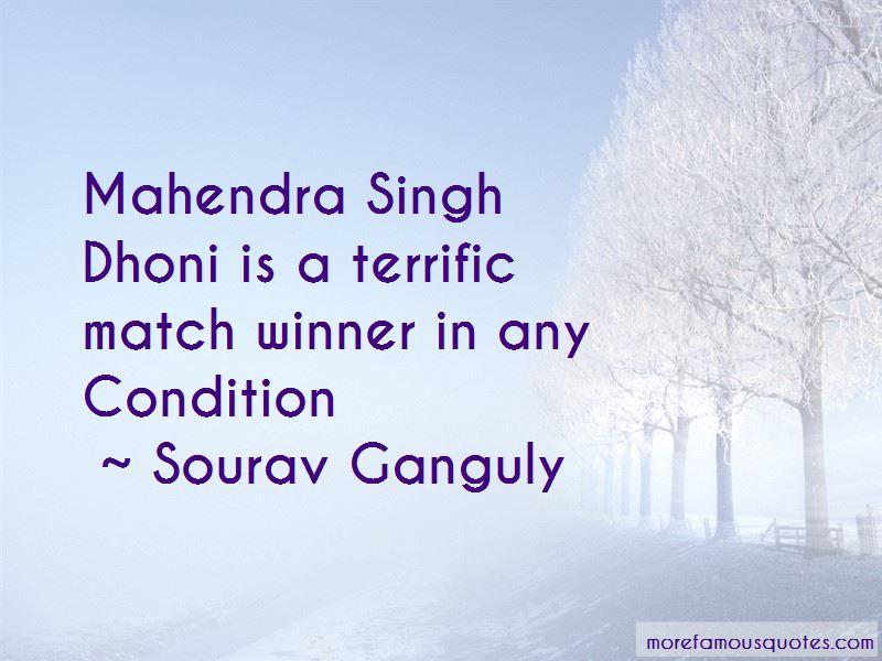 Mahendra Singh Dhoni Quotes Pictures 3