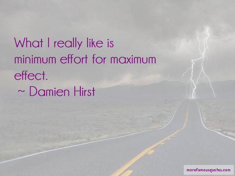 Minimum Effort Quotes Pictures 4