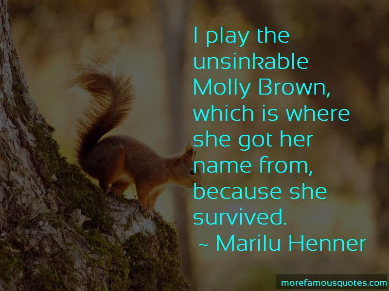 Quotes About Molly Brown