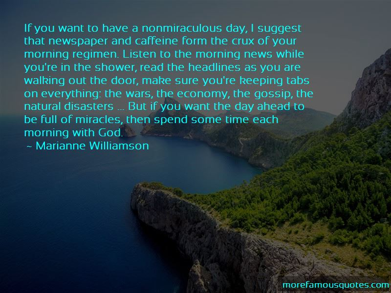 Quotes About Morning With God