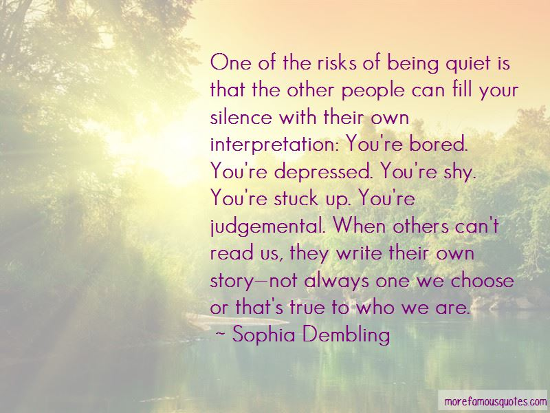 Quotes About Not Being Judgemental Of Others