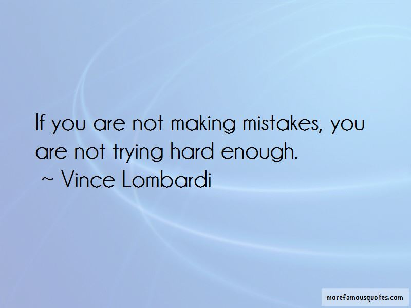Quotes About Not Trying Hard Enough