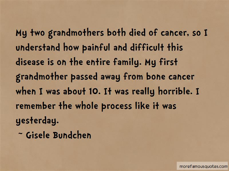Quotes About Passed Grandmothers