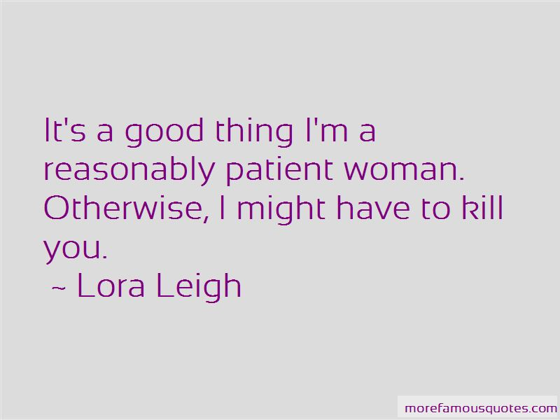 Quotes About Patient Woman