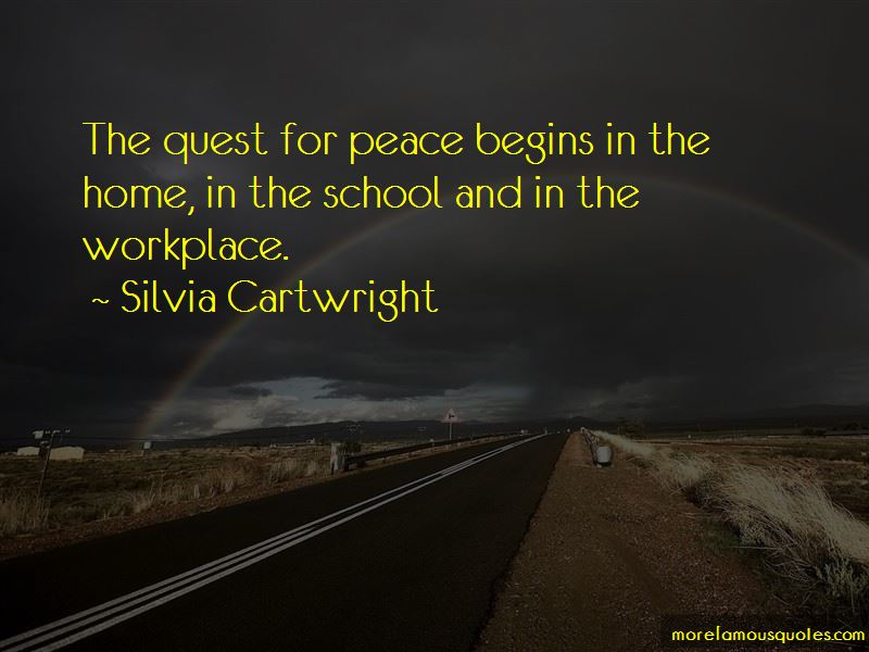 Quotes About Peace In The Workplace