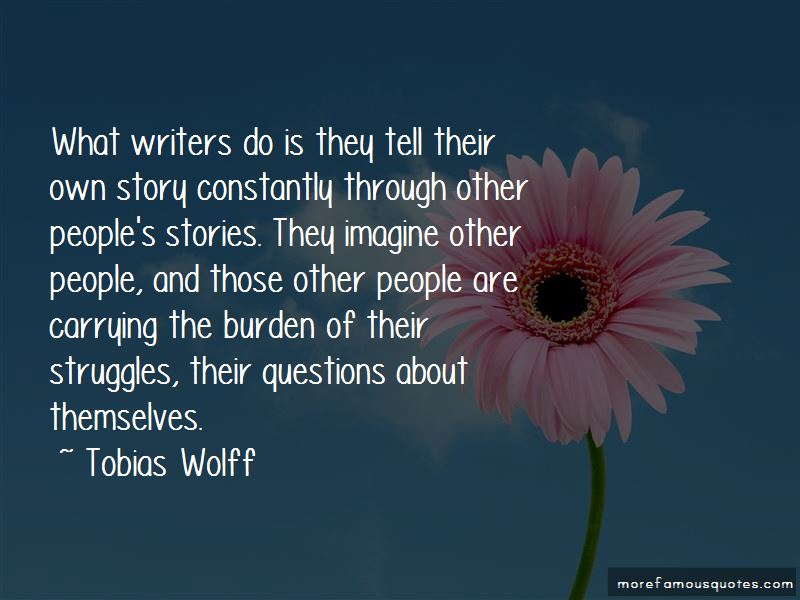 Quotes About People's Stories