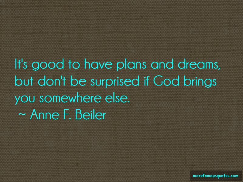 Quotes About Plans And Dreams