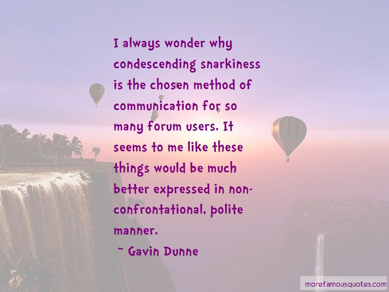 Quotes About Polite Communication