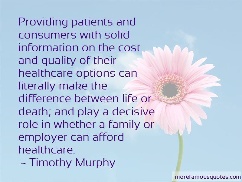 Quotes About Providing Healthcare