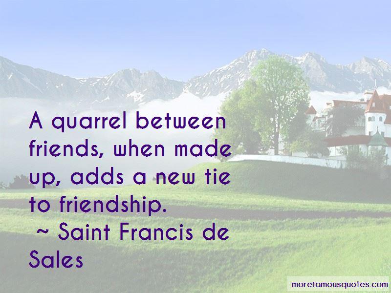 Quotes About Quarrel Friendship