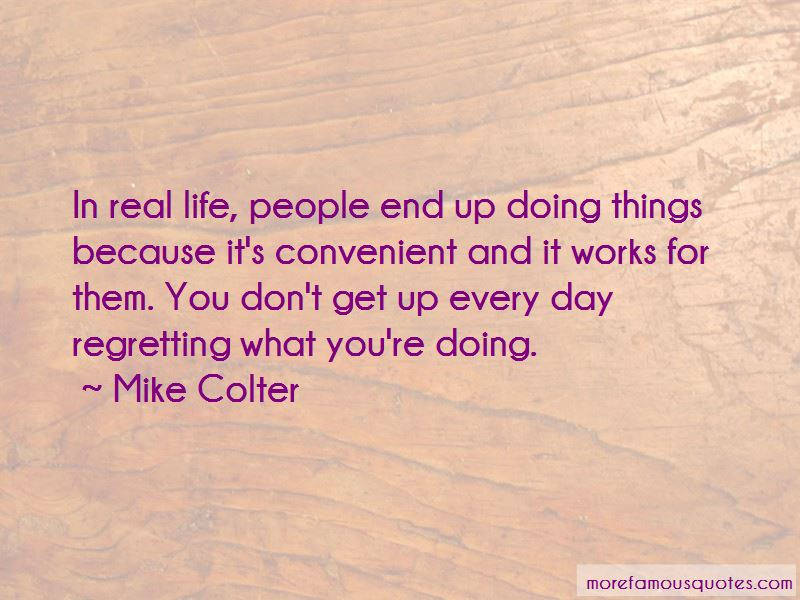 Quotes About Regretting Things In Life
