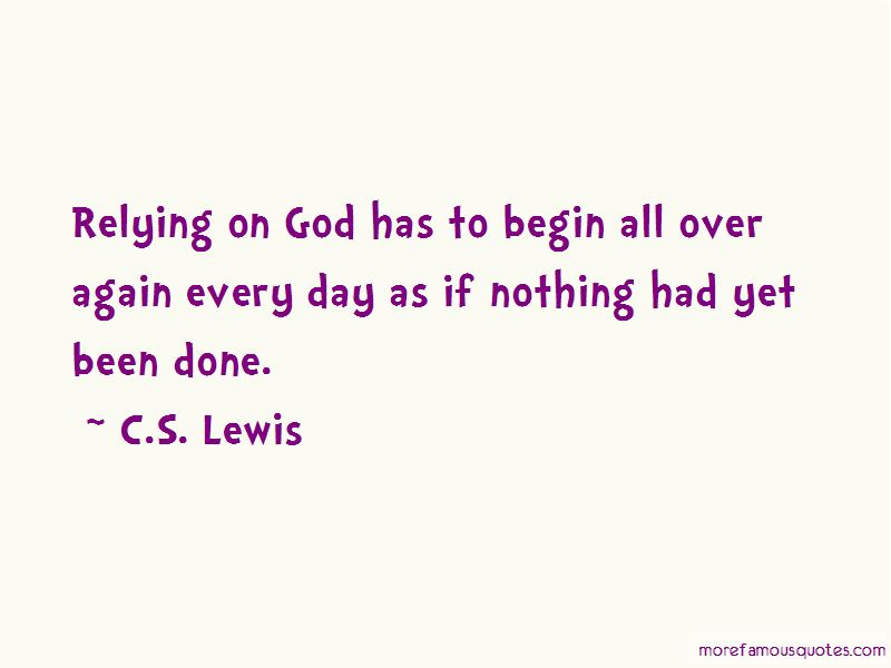 Relying On God Quotes Pictures 2