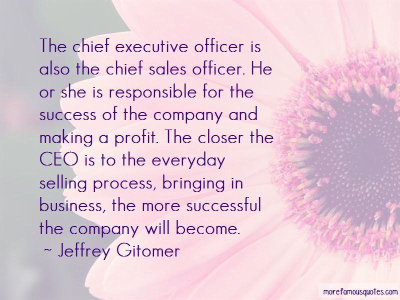 Quotes About Sales Executive