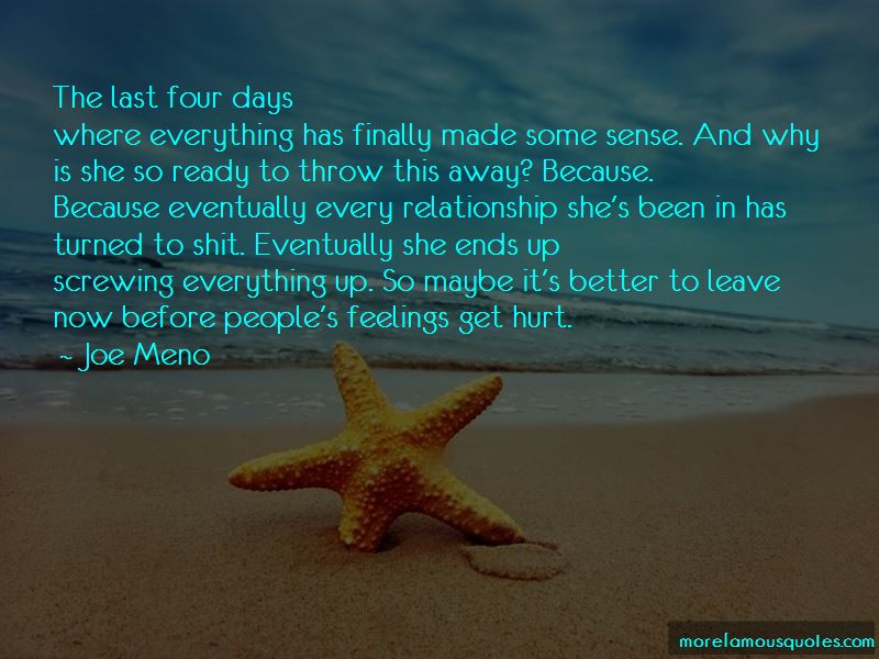 Screwing Up A Relationship Quotes Pictures 4