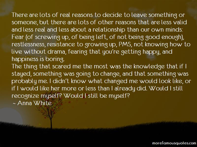 Quotes About Screwing Up A Relationship