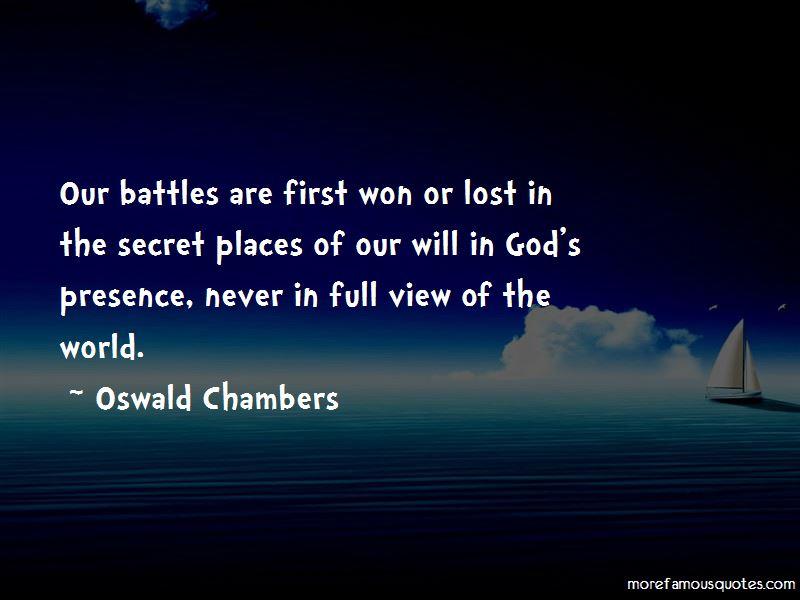 Quotes About Secret Places