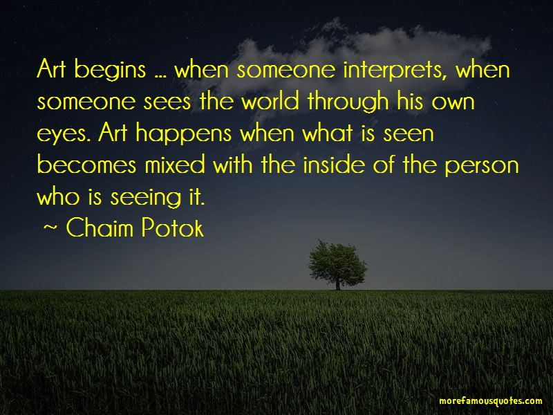 Seeing The World Through Eyes Quotes Pictures 3