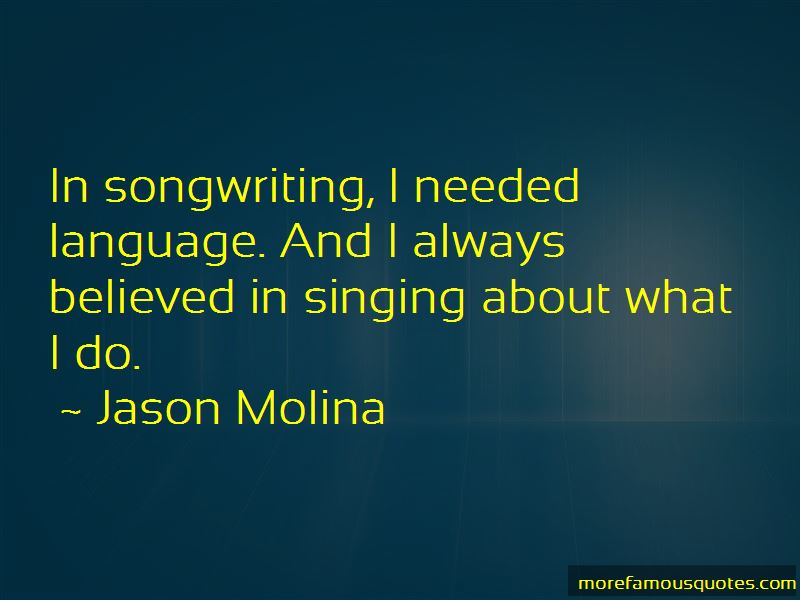 Singing And Songwriting Quotes Pictures 4