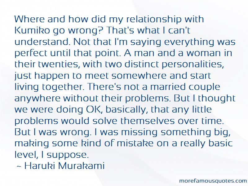 Quotes About Something Missing In A Relationship