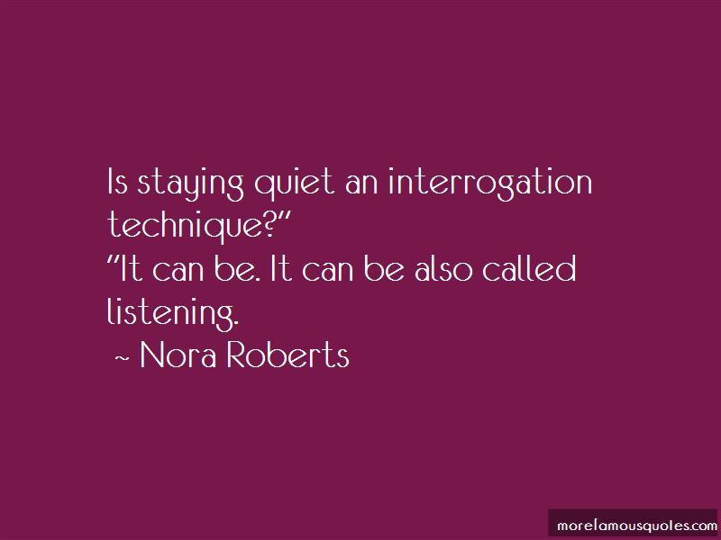 Quotes About Staying Quiet