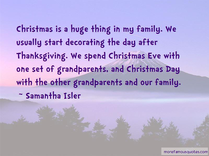 Quotes About Thanksgiving Eve