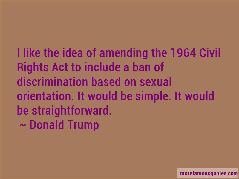 Quotes About The 1964 Civil Rights Act
