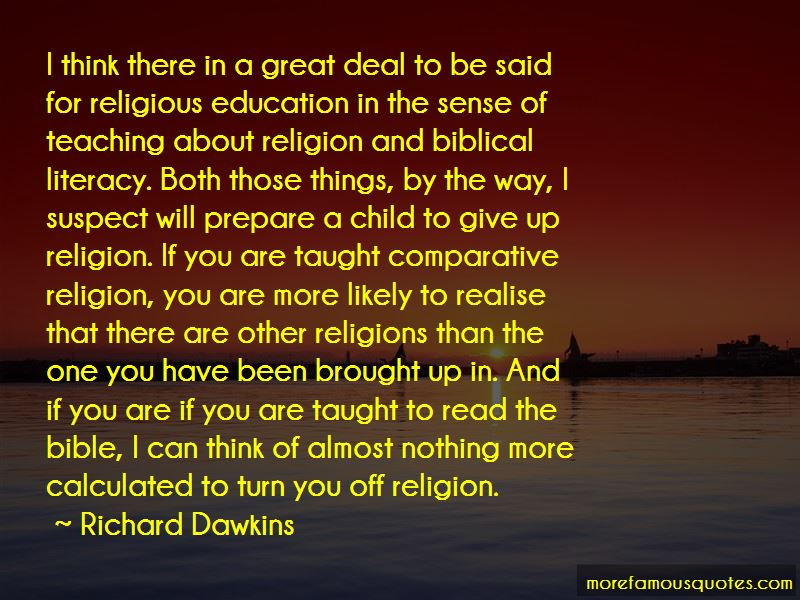 Quotes About The Bible And Education