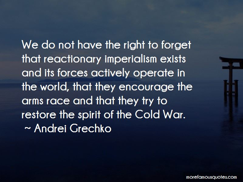 The Cold War Arms Race Quotes Pictures 3