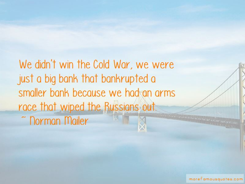 Quotes About The Cold War Arms Race