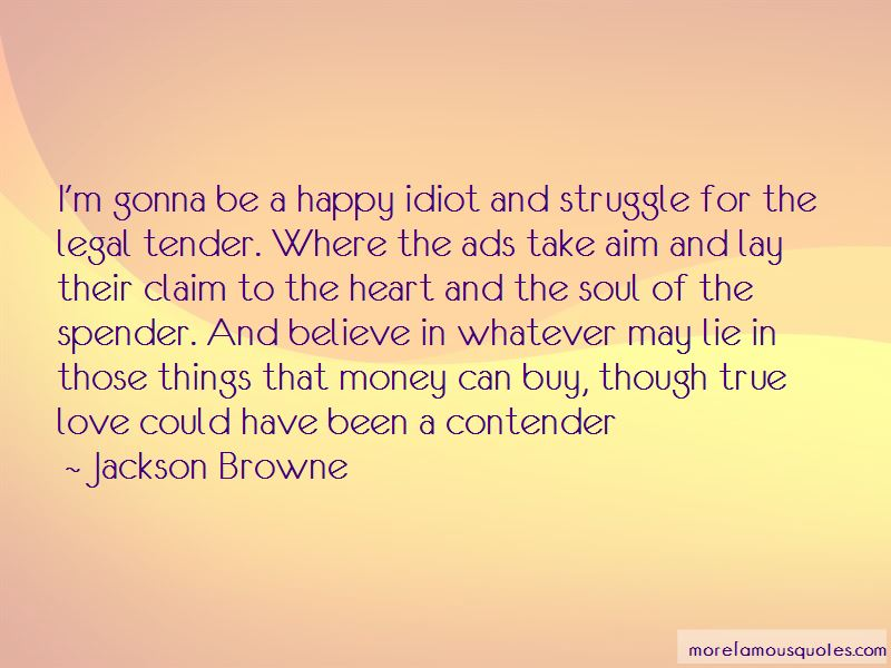 Quotes About The Contender