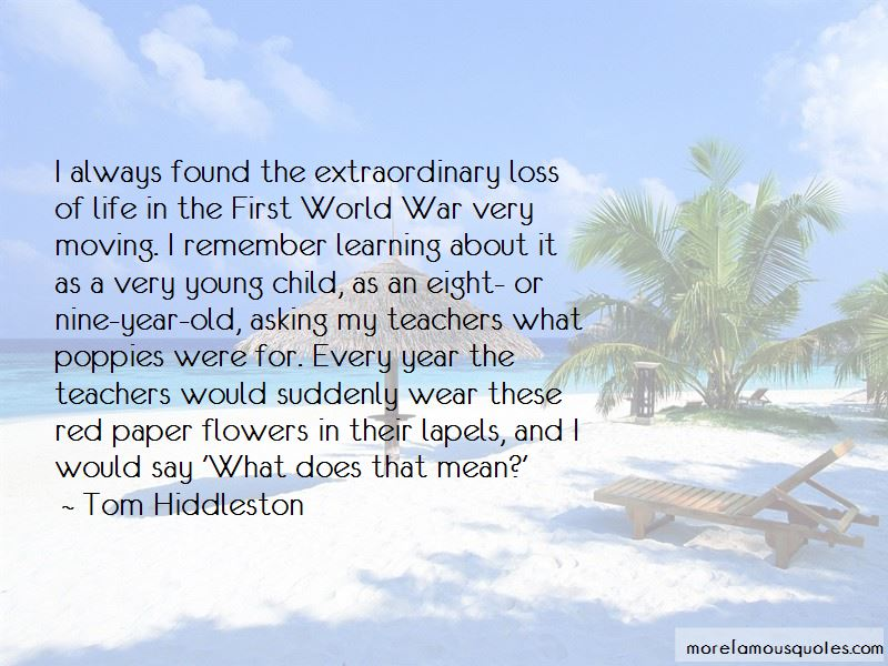 Quotes About The Loss Of A Young Child