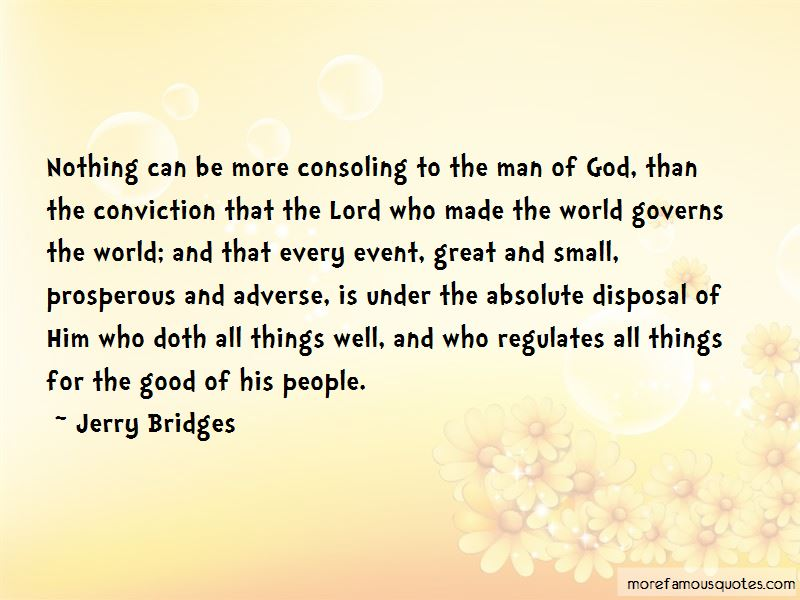 Quotes About The Man Of God