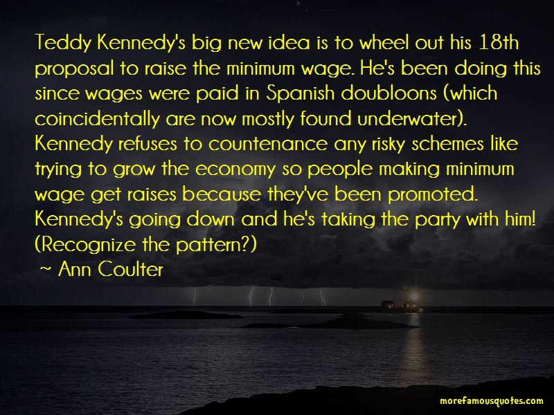 Quotes About The Minimum Wage