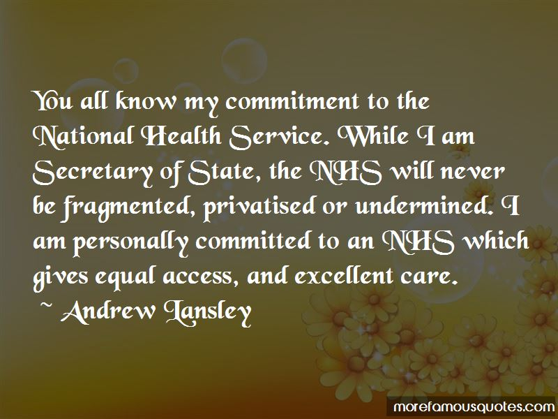 The National Health Service Quotes Pictures 2