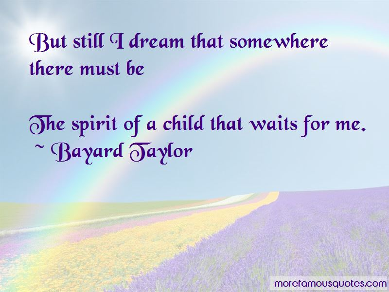 The Spirit Of A Child Quotes Pictures 2