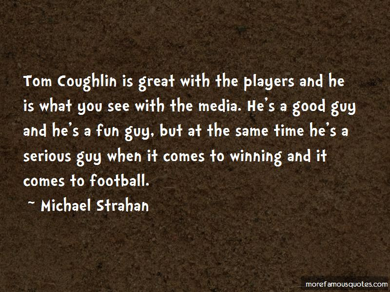 Quotes About Tom Coughlin