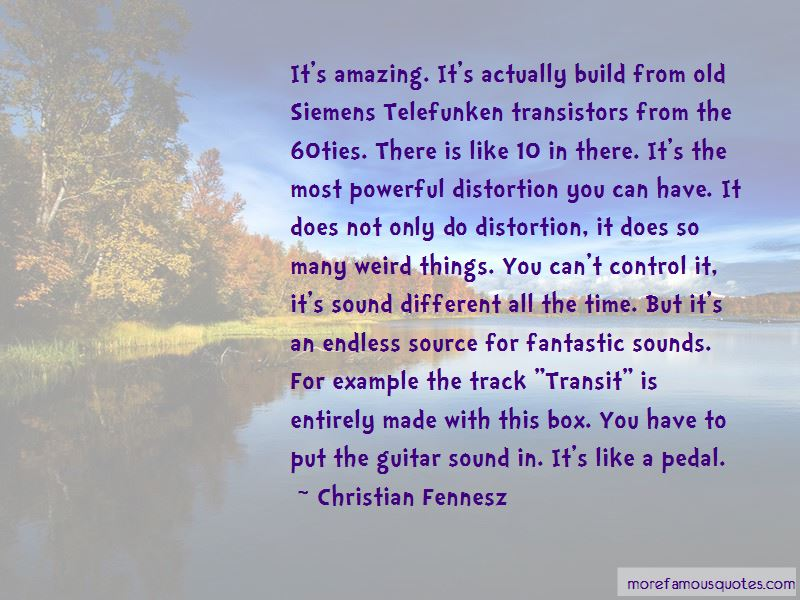 Quotes About Transistors