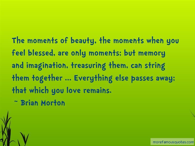 Quotes About Treasuring Moments