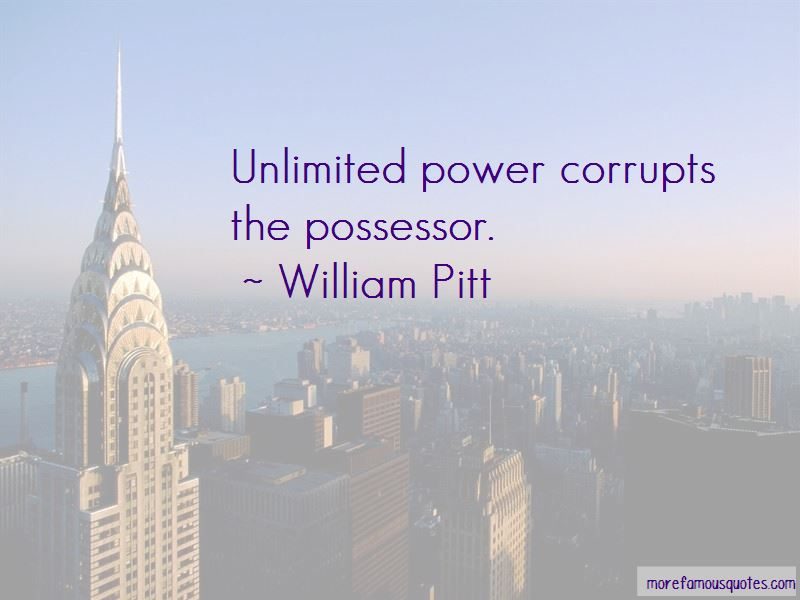 Quotes About Unlimited Power