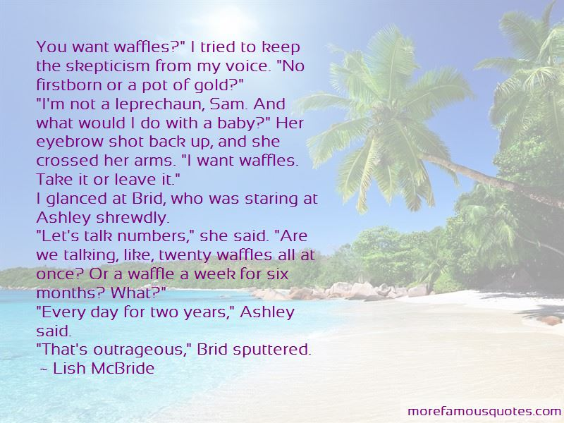Waffles Quotes Pictures 2