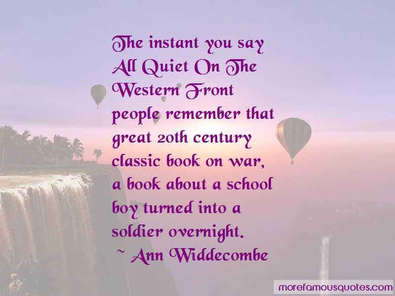 Excellent Sad Quotes From All Quiet On The Western Front Gallery ...