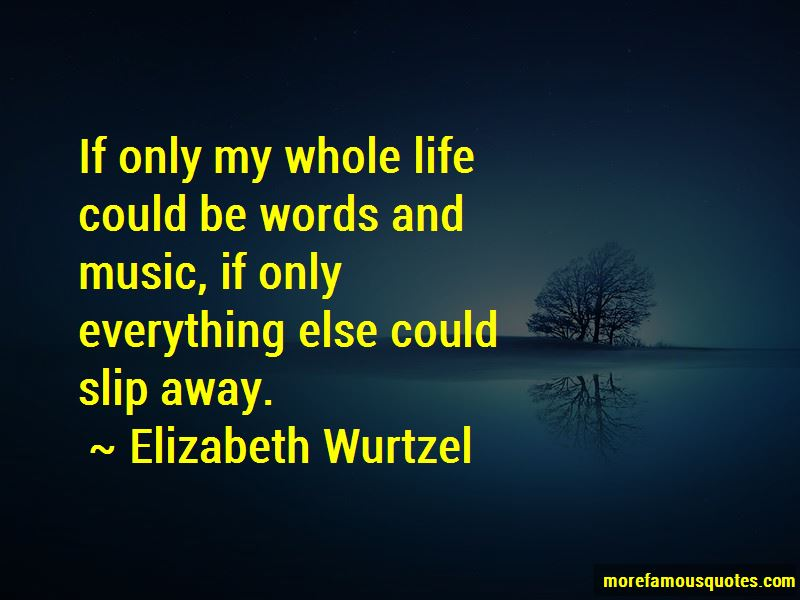 Quotes About Words And Music