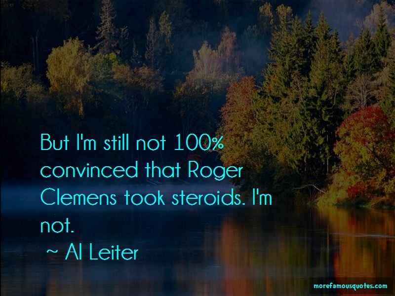 Roger Clemens Steroids Quotes Pictures 2